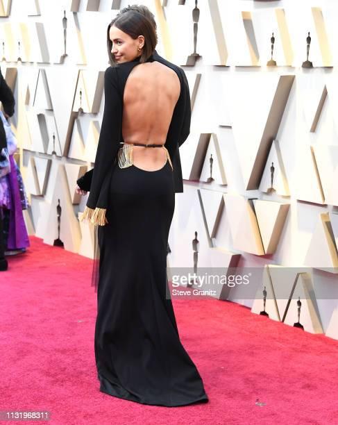 Irina Shayk arrives at the 91st Annual Academy Awards at Hollywood and Highland on February 24, 2019 in Hollywood, California.