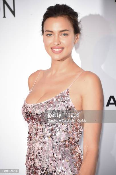 Irina Shayk arrives at the amfAR Gala Cannes 2017 at Hotel du CapEdenRoc on May 25 2017 in Cap d'Antibes France