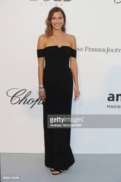 Irina Shayk arrives at the amfAR Gala Cannes 2018 at Hotel du CapEdenRoc on May 17 2018 in Cap d'Antibes France