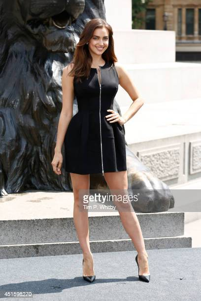 Irina Shayk attends a photocall for 'Hercules' at Trafalgar Square on July 2 2014 in London England