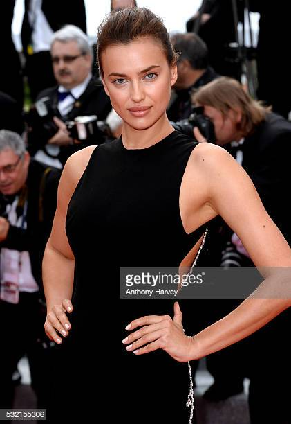 Irina Shayk attends a screening of 'The Unknown Girl ' at the annual 69th Cannes Film Festival at Palais des Festivals on May 18 2016 in Cannes France