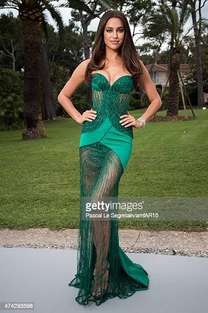 Irina Shayk attends amfAR's 22nd Cinema Against AIDS Gala Presented By Bold Films And Harry Winston at Hotel du CapEdenRoc on May 21 2015 in Cap...