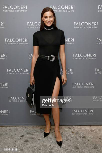 Irina Shayk attends as Falconeri launches in the US with store opening at 101 Prince Street on October 16 2019 in New York City
