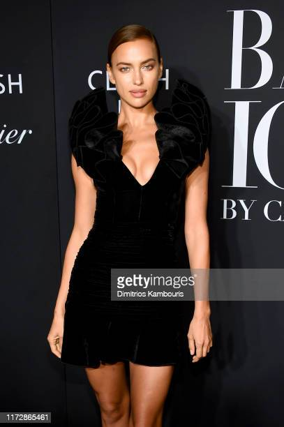 Irina Shayk attends as Harper's BAZAAR celebrates ICONS By Carine Roitfeld at The Plaza Hotel presented by Cartier Arrivals on September 06 2019 in...