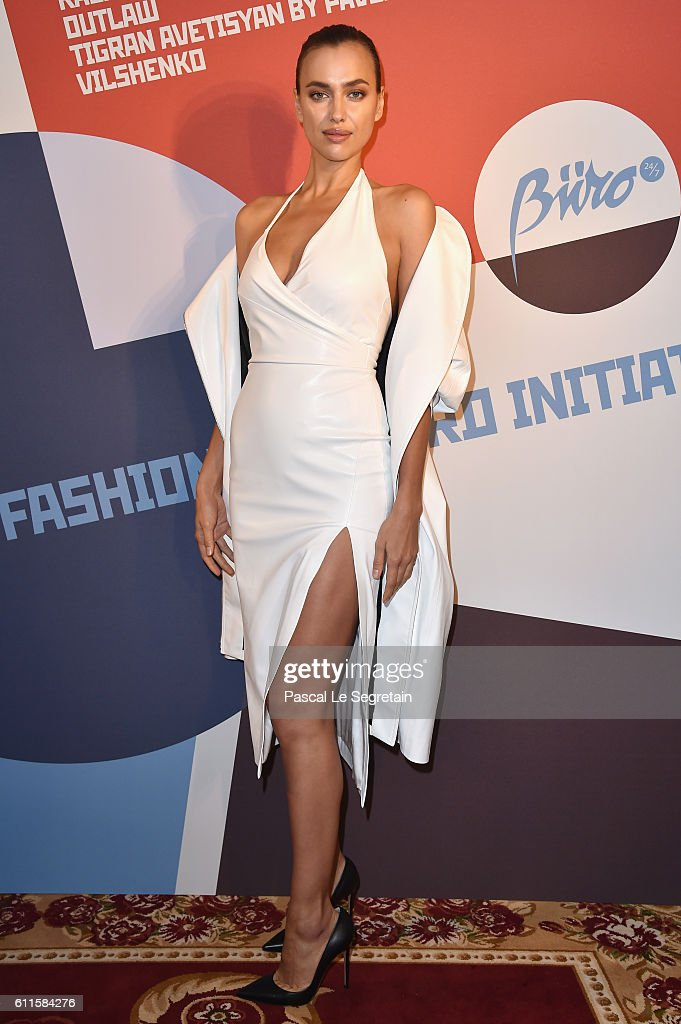 Irina Shayk attends Buro 24/7 Fashion Forward Initiative as part of Paris Fashion Week Womenswear Spring/Summer 2016 at Hotel Ritz on September 30, 2016 in Paris, France.