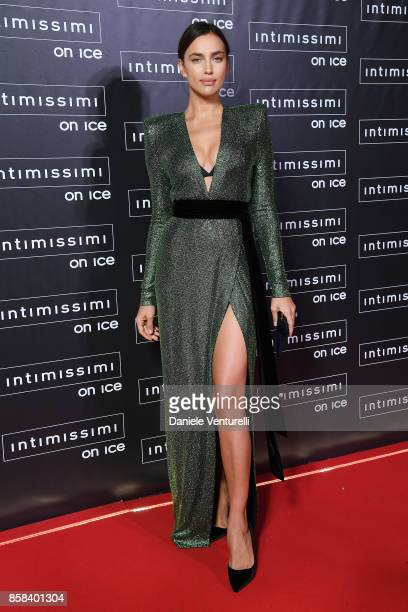 Irina Shayk attends Intimissimi On ice 2017 on October 6 2017 in Verona Italy