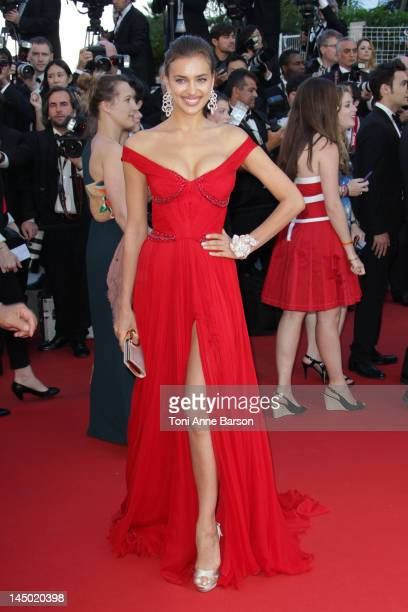 Irina Shayk attends Killing Them Softly Premiere at Palais des Festivals on May 22 2012 in Cannes France