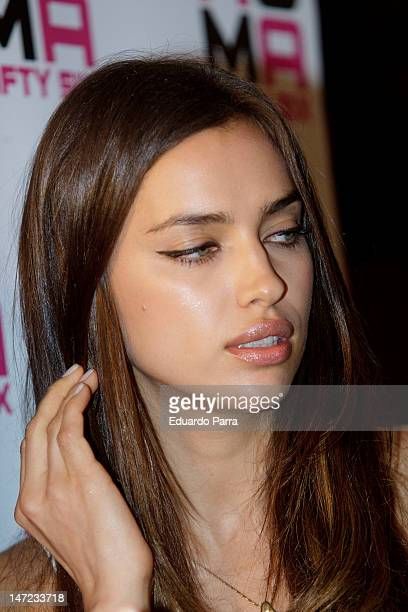 Irina Shayk attends Morellato jewellery collection party photocall at Miguel Angel hotel on June 27 2012 in Madrid Spain