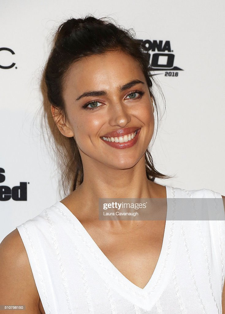 Irina Shayk attends Sports Illustrated Celebrates Swimsuit 2016 at Brookfield Place on February 16, 2016 in New York City.