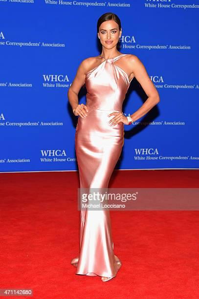 Irina Shayk attends the 101st Annual White House Correspondents' Association Dinner at the Washington Hilton on April 25 2015 in Washington DC