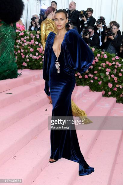 Irina Shayk attends The 2019 Met Gala Celebrating Camp Notes On Fashion at The Metropolitan Museum of Art on May 06 2019 in New York City