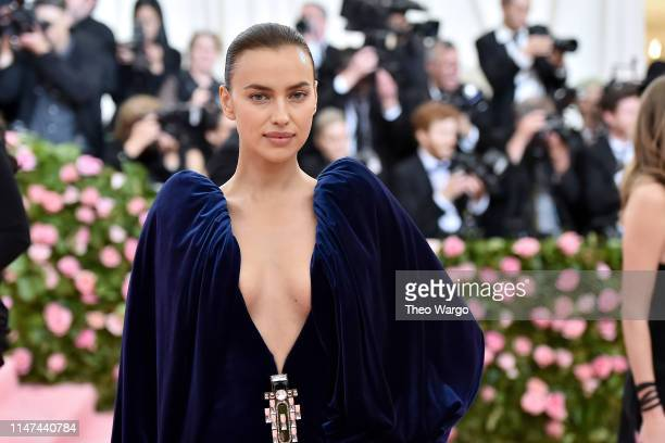 Irina Shayk attends The 2019 Met Gala Celebrating Camp Notes on Fashion at Metropolitan Museum of Art on May 06 2019 in New York City