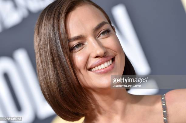 Irina Shayk attends the 76th Annual Golden Globe Awards at The Beverly Hilton Hotel on January 6 2019 in Beverly Hills California
