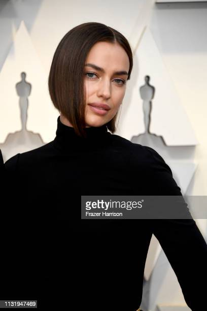 Irina Shayk attends the 91st Annual Academy Awards at Hollywood and Highland on February 24 2019 in Hollywood California