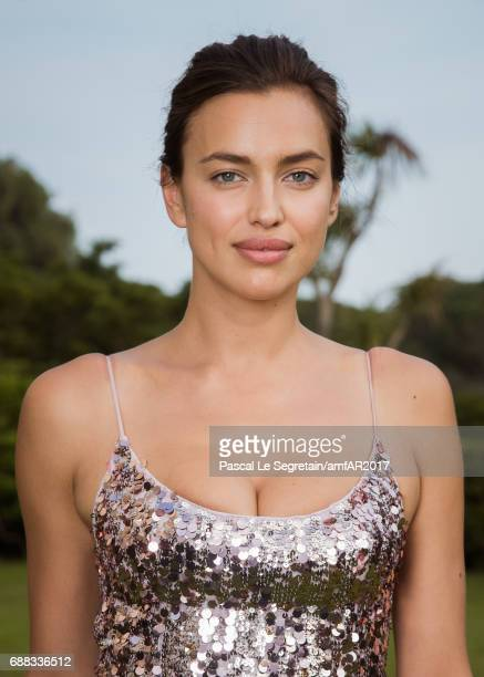 Irina Shayk attends the amfAR Gala Cannes 2017 at Hotel du CapEdenRoc on May 25 2017 in Cap d'Antibes France