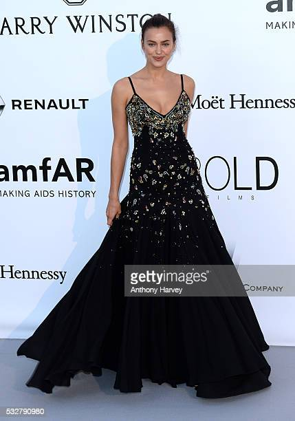 Irina Shayk attends the amfAR's 23rd Cinema Against AIDS Gala at Hotel du CapEdenRoc on May 19 2016 in Cap d'Antibes France