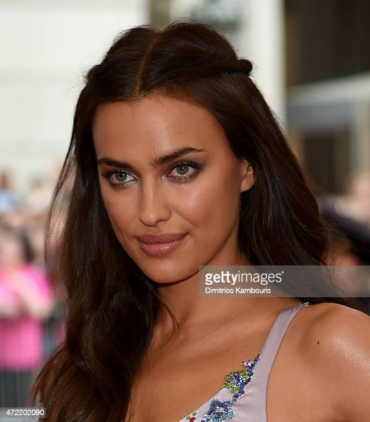 Irina Shayk attends the China Through The Looking Glass Costume Institute Benefit Gala at the Metropolitan Museum of Art on May 4 2015 in New York...