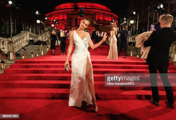 Irina Shayk attends The Fashion Awards 2017 in partnership with Swarovski at Royal Albert Hall on December 4 2017 in London England
