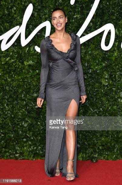 Irina Shayk attends The Fashion Awards 2019 at the Royal Albert Hall on December 02 2019 in London England