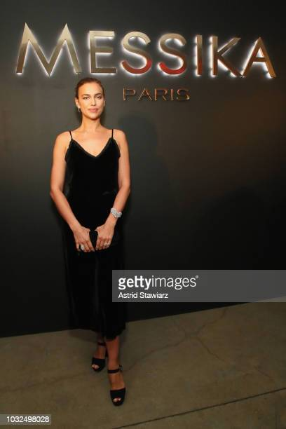 Irina Shayk attends the MESSIKA Party NYC Fashion Week Spring/Summer 2019 Launch Of The Messika By Gigi Hadid New Collection at Milk Studios on...