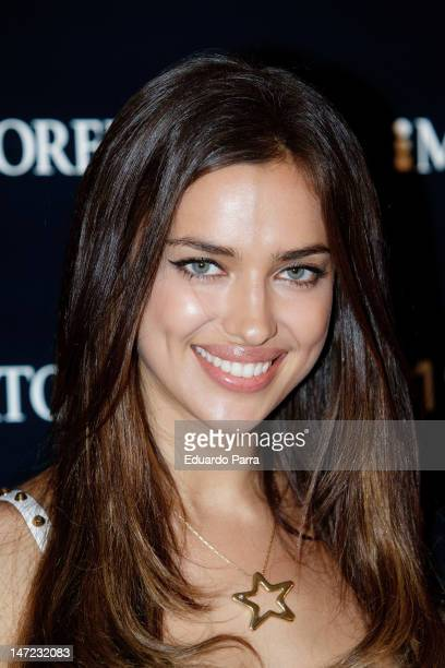 Irina Shayk attends the Morellato jewellery collection party photocall at Miguel Angel hotel on June 27, 2012 in Madrid, Spain.
