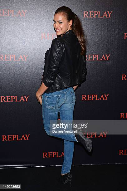 Irina Shayk attends the Replay Party during the 65th Annual Cannes Film Festival at Palais des Festivals on May 22 2012 in Cannes France