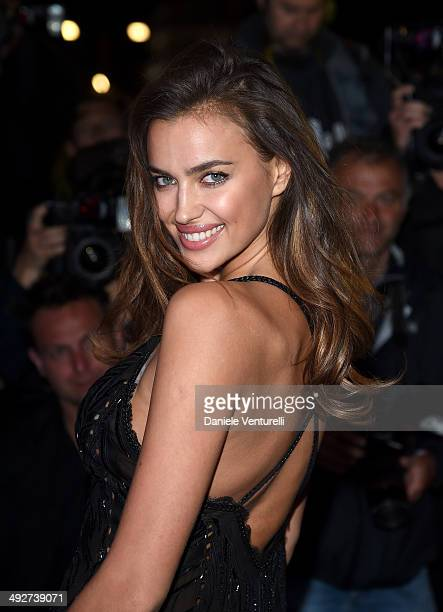 Irina Shayk attends the Roberto Cavalli yacht party at the 67th Annual Cannes Film Festival on May 21 2014 in Cannes France