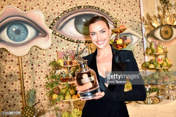 Irina Shayk attends the Scandal A Paris JeanPaul Gaultier's New Fragrance Launch Dinner Party at Lassere on April 24 2019 in Paris France