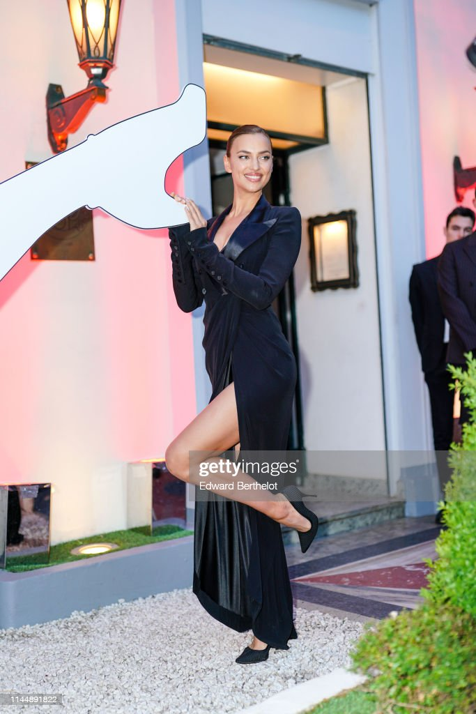 """FRA: """"Scandal A Paris"""" : Jean-Paul Gaultier's New Fragance Launch Dinner Party : Outside Arrivals At Lassere In Paris"""