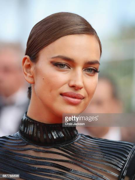 Irina Shayk attends the The Beguiled screening during the 70th annual Cannes Film Festival at Palais des Festivals on May 24 2017 in Cannes France