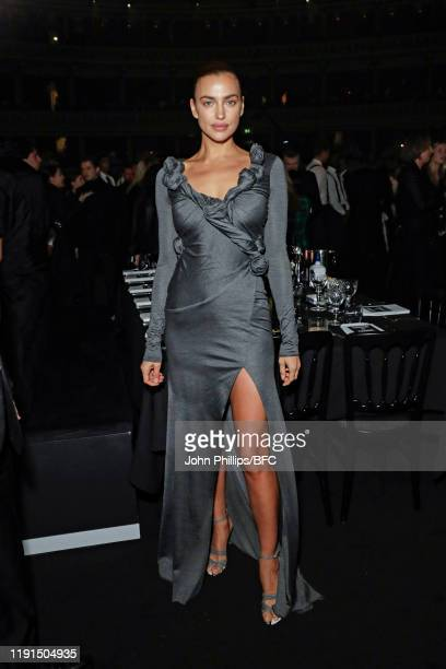Irina Shayk attends the VIP dinner at The Fashion Awards 2019 held at Royal Albert Hall on December 02 2019 in London England