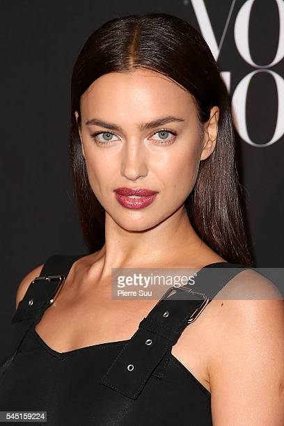 Irina Shayk attends the Vogue Foundation Gala 2016 at Palais Galliera on July 5 2016 in Paris France