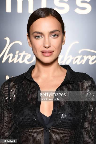 "Irina Shayk attends the White Cabaret ""La Premiére"" - Intimissimi Show on October 29, 2019 in Verona, Italy."