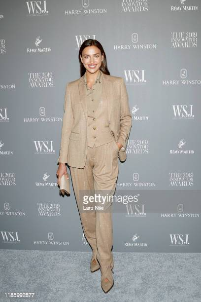 Irina Shayk attends the WSJ Magazine 2019 Innovator Awards sponsored by Harry Winston and Rémy Martinat MOMA on November 06 2019 in New York City