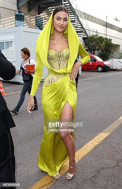 Irina Shayk is seen on day 8 of the 67th Annual Cannes Film Festival on May 21 2014 in Cannes France