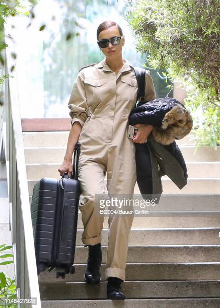 Irina Shayk is seen on June 06 2019 in Los Angeles California