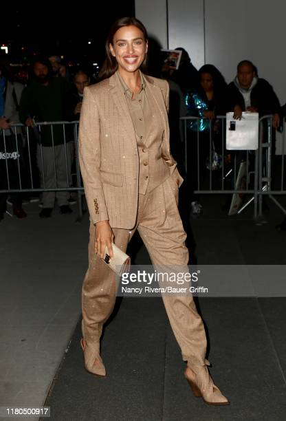 Irina Shayk is seen on November 06, 2019 in New York City.
