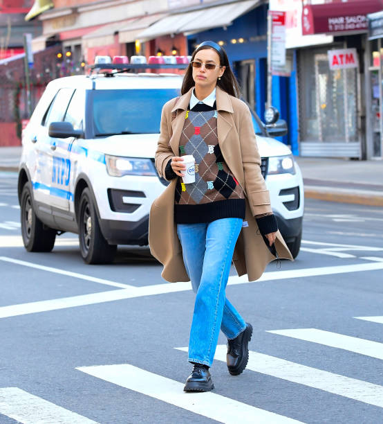 NY: Celebrity Sightings In New York City - February 24, 2021