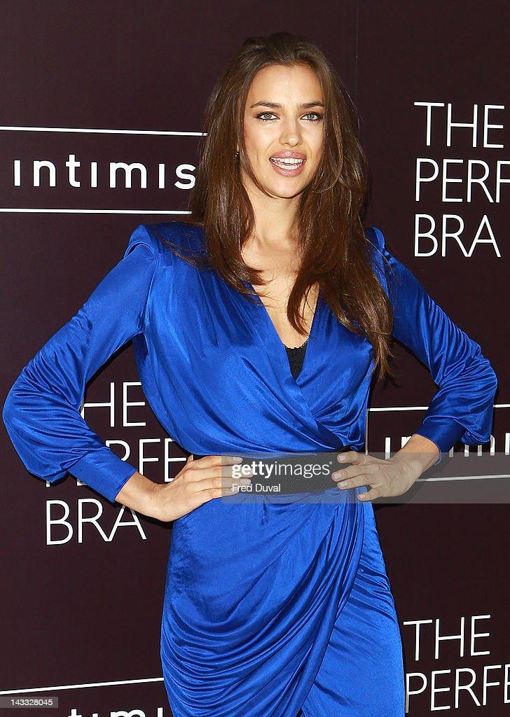 Irina Shayk Launches Intimissimi Perfect Bra Collection And Book : News Photo