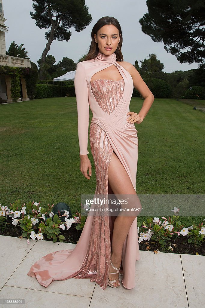 Irina Shayk poses for a portrait at amfAR's 21st Cinema Against AIDS Gala Presented By WORLDVIEW, BOLD FILMS, And BVLGARI at Hotel du Cap-Eden-Roc on May 22, 2014 in Cap d'Antibes, France.