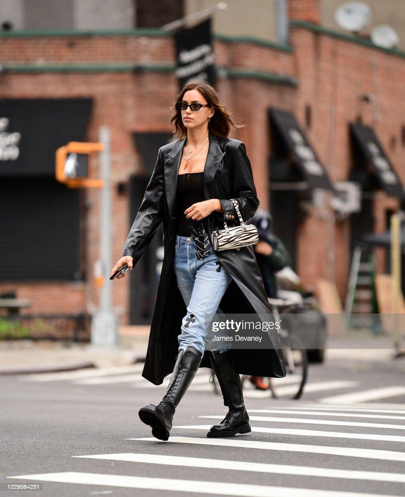 Celebrity Sightings in New York City - November 11, 2020 : Nieuwsfoto's