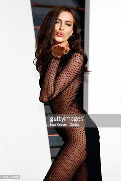 Irina Shayk Vanity Fair Oscar Party 2015 Beverly Hills CA February 22 2015 ��Kurt Krieger