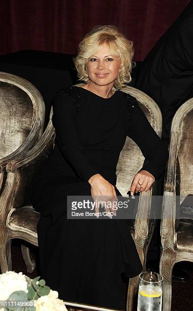 Irina Virganskaya attends the Gorby 80 Gala at the Royal Albert Hall on March 30 2011 in London England The concert is to celebrate the 80th birthday...