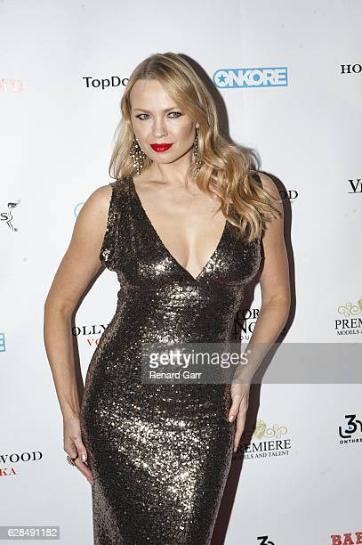 Irina Voronina attends 9th Annual Babes In Toyland Charity Toy Drive at Avalon on December 7 2016 in Hollywood California