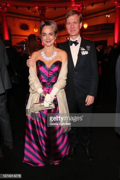 Irina Wanka and her husband Roland Kuhne Wanka during the European Film Awards after party at Teatro Lope de Vega on December 15 2018 in Seville Spain