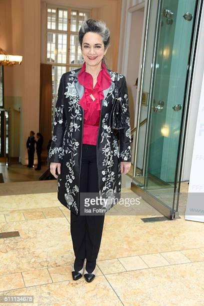 Irina Wanka attend the FFF Reception on February 18 2016 in Berlin Germany