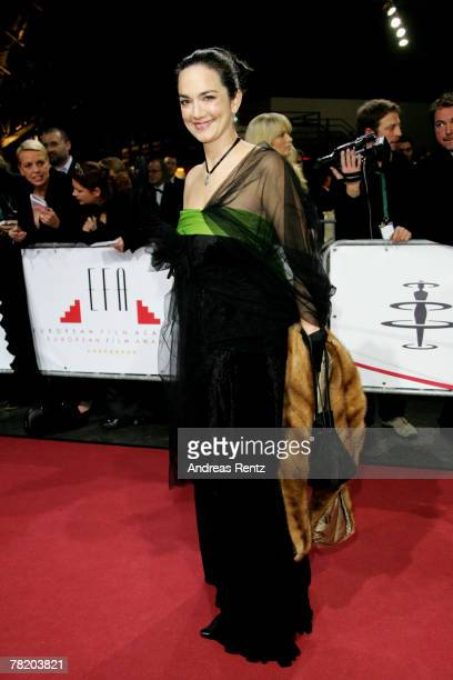 Irina Wanka attends the 20th European Film Awards at the Arena on December 1 2007 in Berlin Germany