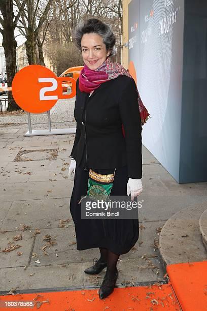 Irina Wanka attends the 35 years anniversary of the tv show 'Soko 5113' on January 30 2013 in Munich Germany