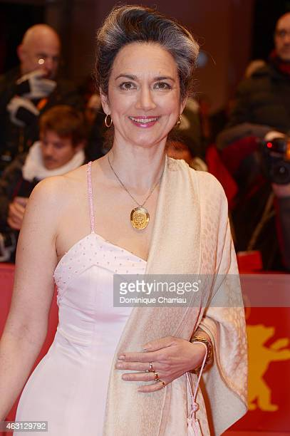 Irina Wanka attends the 'Every Thing Will Be Fine' premiere during the 65th Berlinale International Film Festival at Berlinale Palace on February 10...