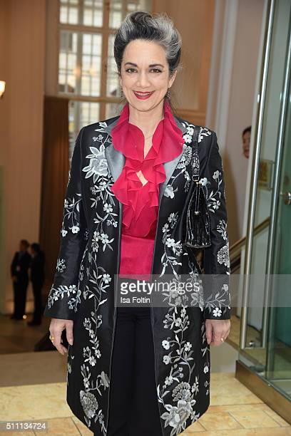 Irina Wanka attends the FFF Reception on February 18 2016 in Berlin Germany